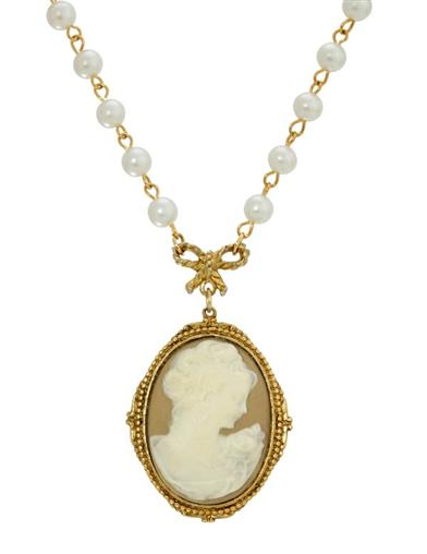 Erato Cameo Necklace
