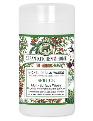 Winter Spruce Multi-surface Wipes