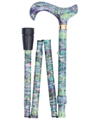 Monet's Water Lily Pond English Walking Stick