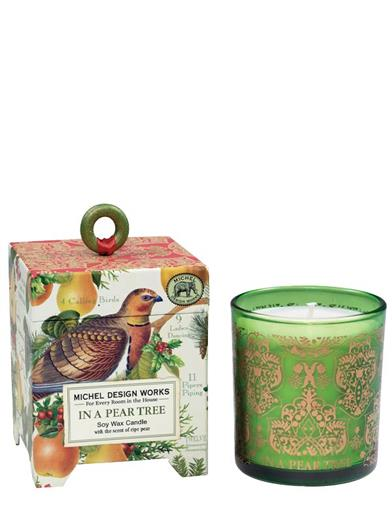 In A Pear Tree Wax Candle
