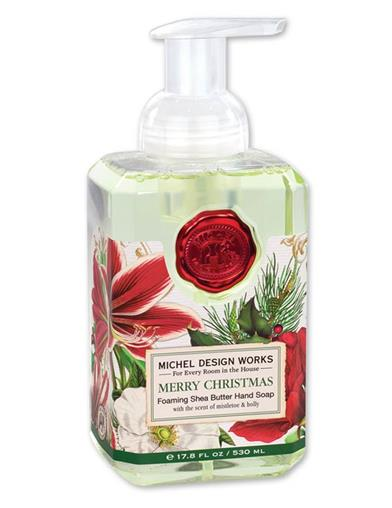 Christmas Holly Foaming Soap
