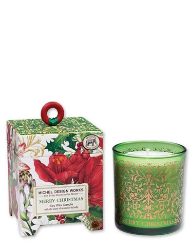 Christmas Holly Fragrant Wax Candle