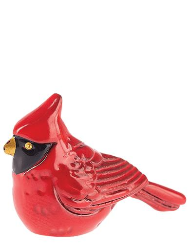 The Lucky Little Cardinal Charm (Set Of 4)