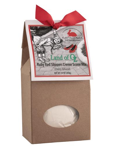 Land Of Oz Ruby Red Slippers Scone Mix