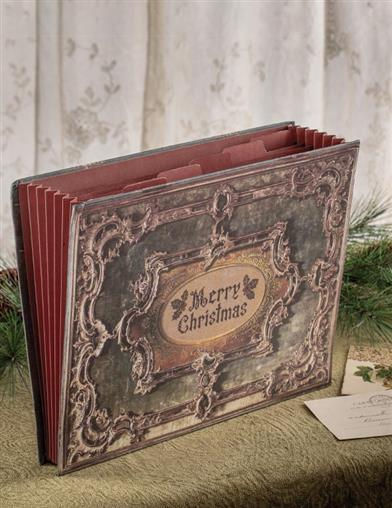 Christmas Keepsake Accordion File Folder