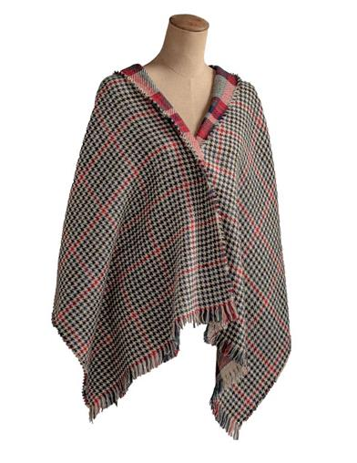 Tartan Plaid Reversible Wrap
