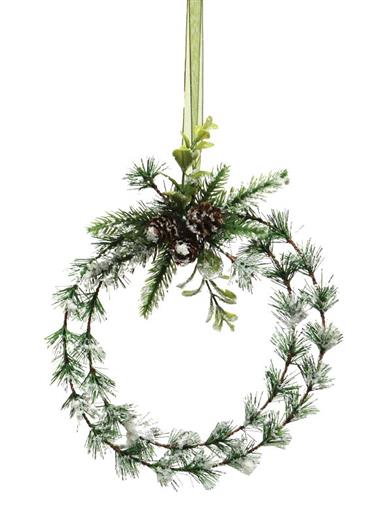 Winter Woods Pine Wreath