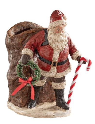 Santa's Magical Bag Container Statue