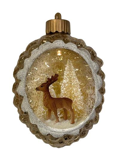 Winter Woods Lighted Ornament