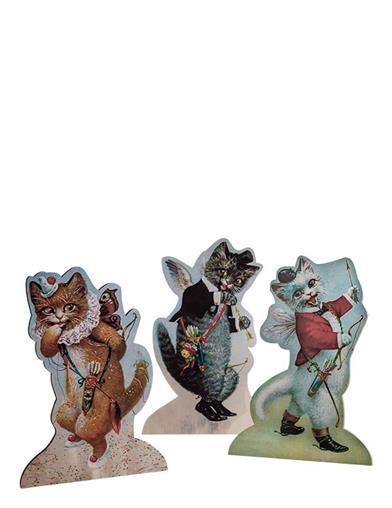 Cupid Cat Dummy Boards (Set Of 3)