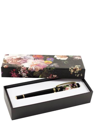 Midnight Garden Roller Ball Pen With Gift Box