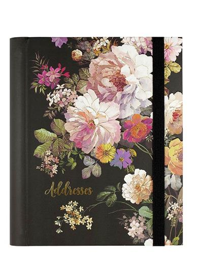 Midnight Garden Large Address Book