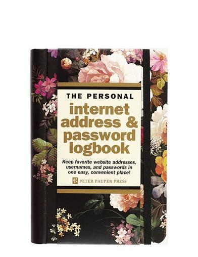 Midnight Garden Internet Address & Password Book