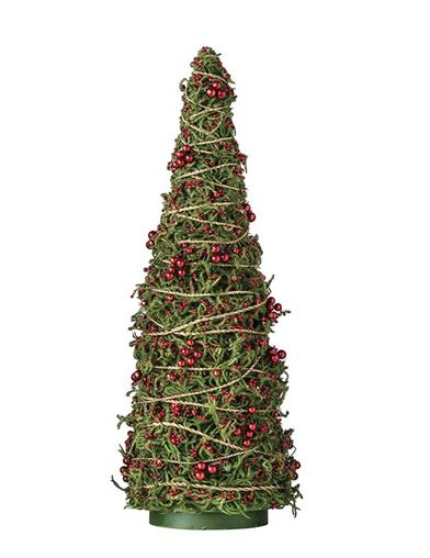 Merry-moss Twine Wrapped Christmas Tree 24 In