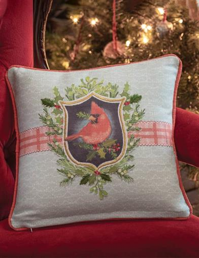 Holiday Chirp & Cheer Pillows