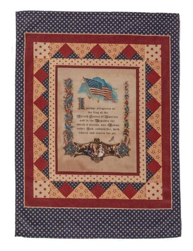 The Pledge Of Allegiance Tea Towel