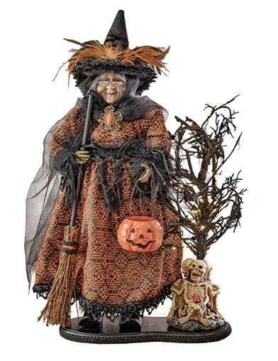 Ravena The Witch Lighted Sculpture