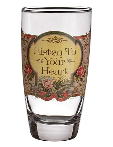 Meaningful Mantras Drinking Glasses (Set Of 4)