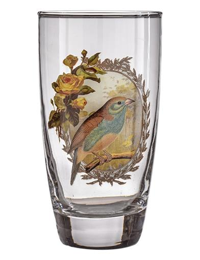 Early Birds Drinking Glasses (Set Of 4)
