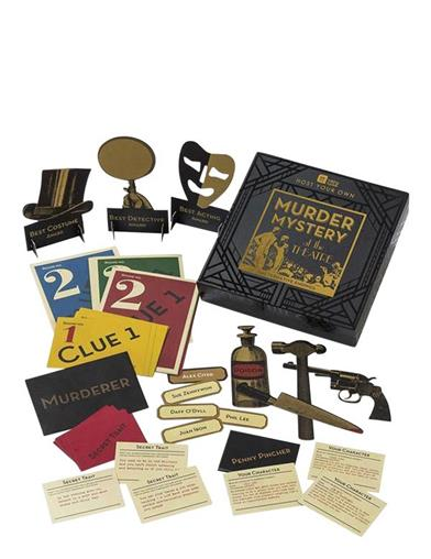 Murder Mystery At The Theater Game Kit