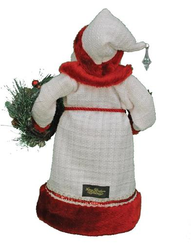 Winter Serenity Santa Figurine