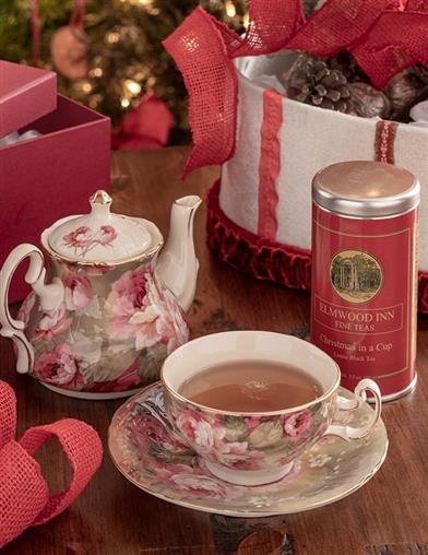 Victoria Rose Tea For One Gift Set