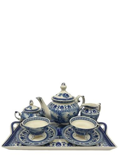 Liberty Blue Tea Set