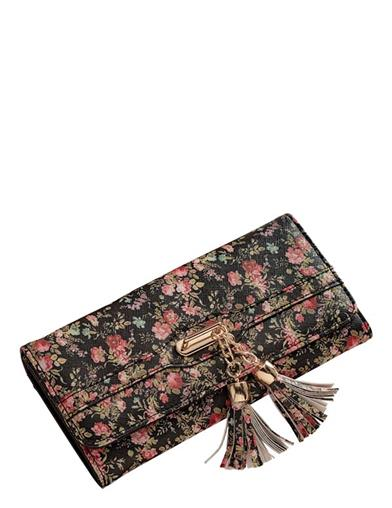 Midnight Garden Walk Wallet