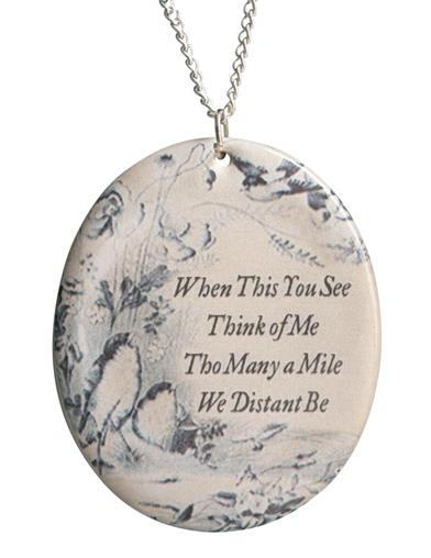 When This You See, Think Of Me Pendant Necklace