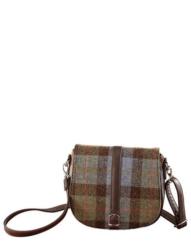 Harris Tweed Tartan Shoulder Bag