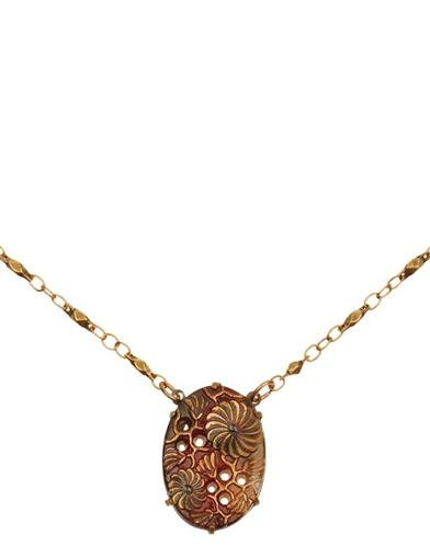 Tiger's Eye Vault Necklace