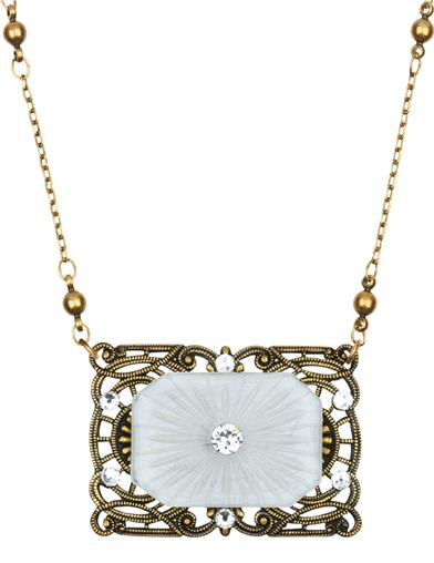 Ethereal Sunray Vault Necklace