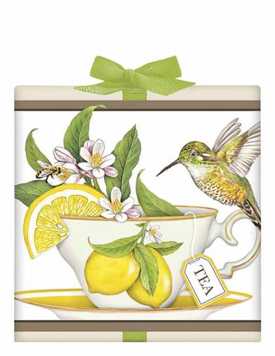 Hummingbird Teacup Lemon Tea Box