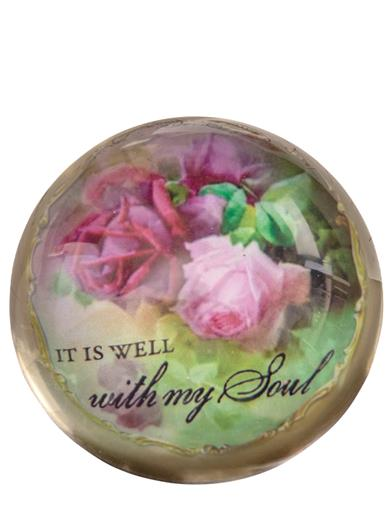 It Is Well With My Soul Paperweight