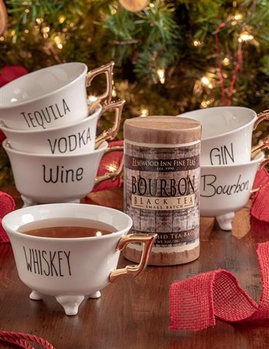 Holiday Spirits 7-Piece Tea Gift Set