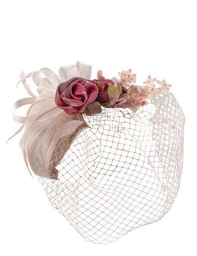 Sylvia Silk Bouquet Fascinator Hat