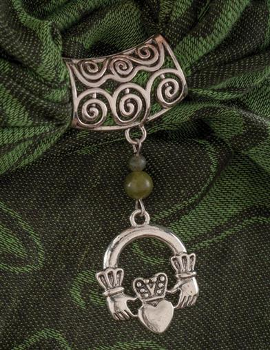 Claddagh Scarf Ring