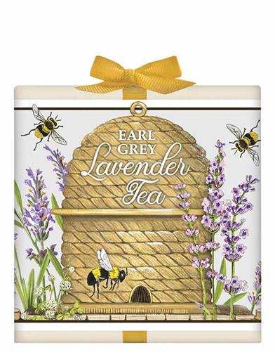 Lavender Beehive Tea Box