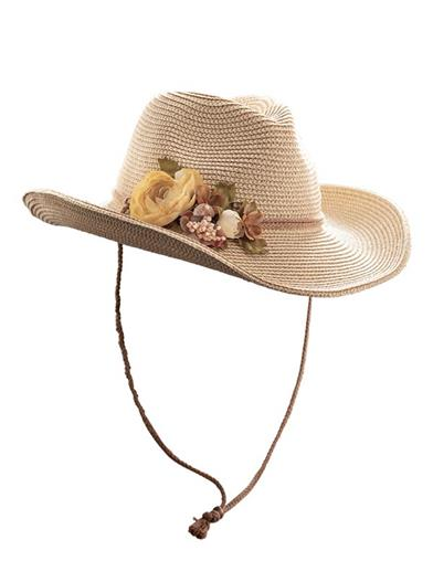 Flossie's Floral Cowgirl Hat