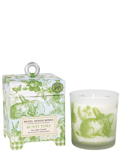 Bunny Toile Soy Wax Candle
