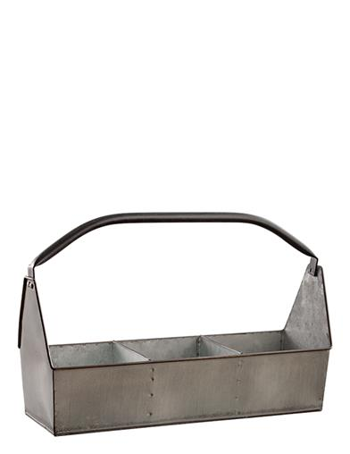 Vintage Metal Garden Caddy