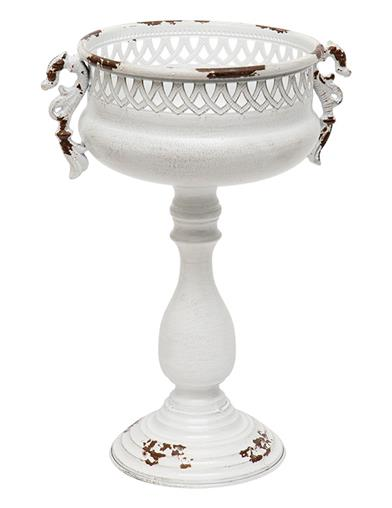 Antique White Pedestal