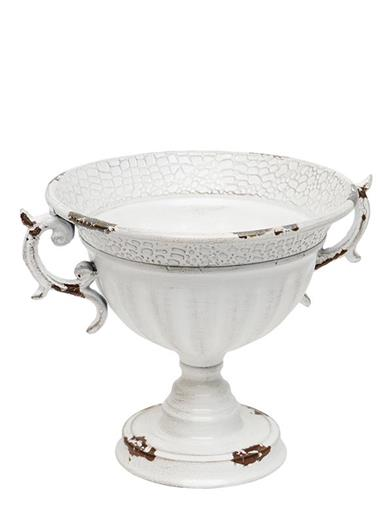 French White Handled Compote