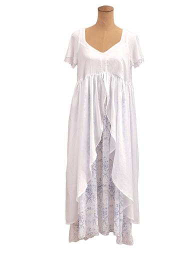 French Blue Fairytale Nightgown