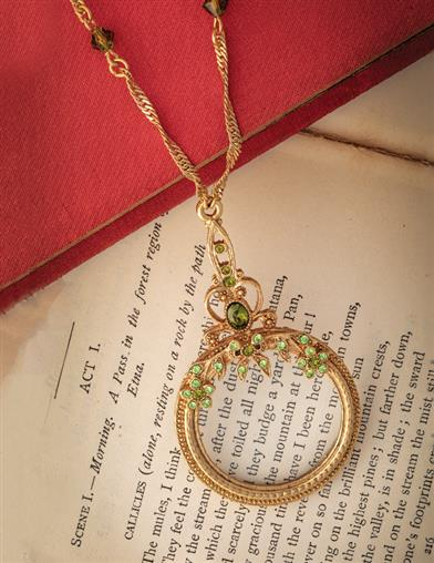 Maude's Magnifying Glass Necklace