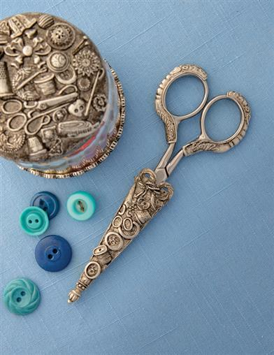 Needlepoint Icons Seamstress Scissors