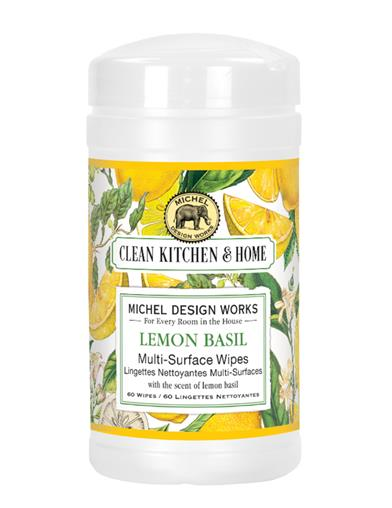 Lemon Basil Multi-surface Wipes