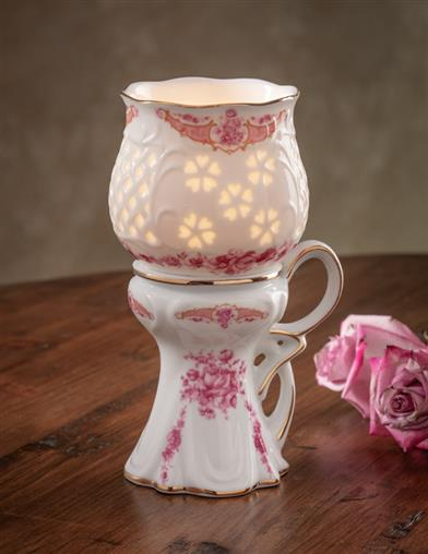 Wingfield Porcelain Candle Holder