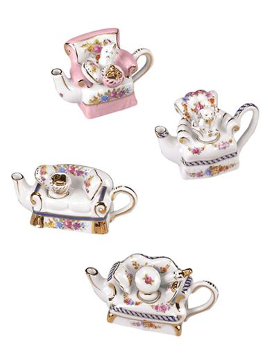 Mini-couch Teapot Collectibles