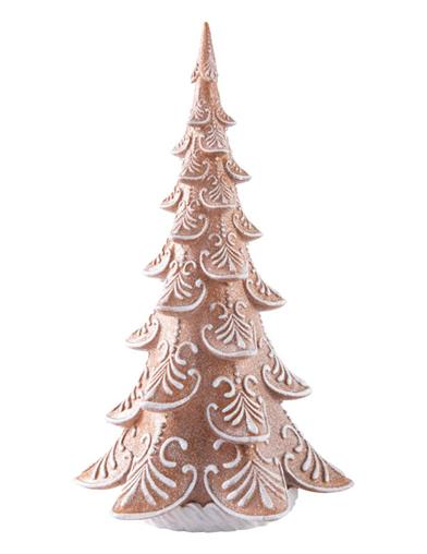 Gingerbread Forest Illuminated Tree